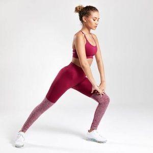 Gymshark Seamless Twotone Legging Beet Marl